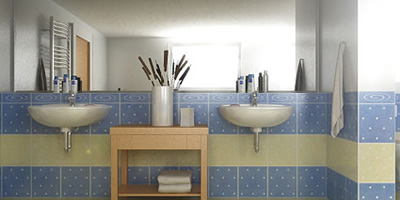3D Visualization - Bathroom