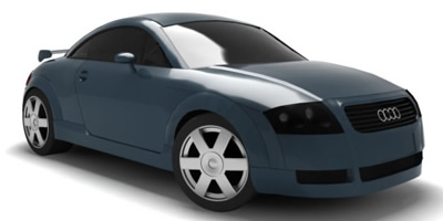 3D Visualization - Car