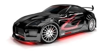 3D Visualization - Car tunning