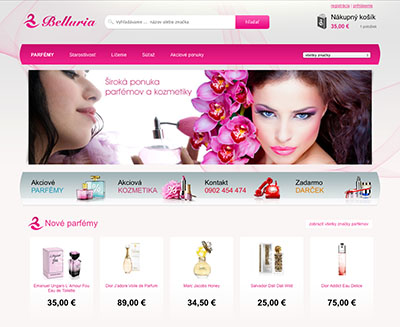 Web Design - Belluria