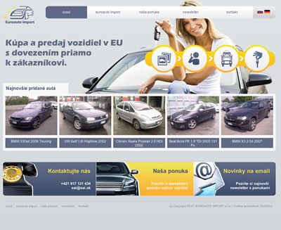 Web Design - Euroauto Import