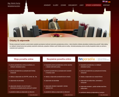 Web Design - Mgr. Martin Hurtaj