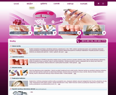 Web Design - Inginails